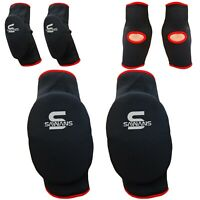 SAWANS® Elbow Pads Support Brace Guards Arm Protector Kick Boxing MMA Gym Padded