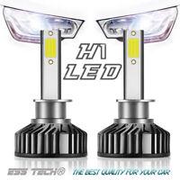Kit 2 ampoules LED H1 6000K Blanc 12/24 Volts moteur mini OBD Canbus ESS TECH®