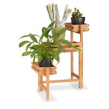 Flower Staircase, Adjustable Ladder Rack, 3-Tier Plant Stand Herb Shelf