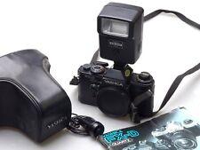 Yashica FX-D Quartz + cs-201 Flash