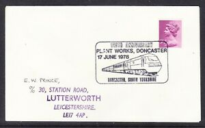 Great Britain 1978 Plant Works Doncaster 125th Anniversary Souvenir Cover