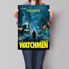Watchmen Movie Poster 2009 Zack Snyder Film V4 16.6 x 23.4 in (A2)