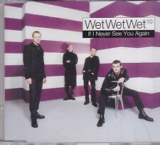 Wet Wet Wet-If I Never See You Again Promo cd single