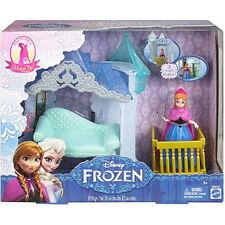Disney Frozen MagiClip Flip 'N Switch Castle and Anna Doll Flip Furniture Mattel