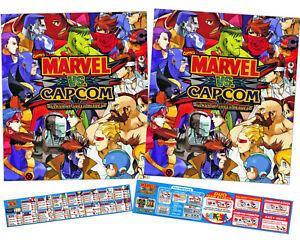"""Multicade  26/"""" X 21/"""" NEW DK Arcade Classics Side Art Set 02621 1 pc"""