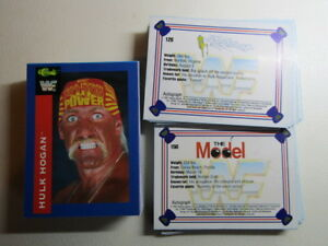 Classic WF Wrestling Cards 1991 by  Classic Games Autograph Card Variants (e3)