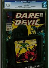 DAREDEVIL #46 CGC 7.5 1968 ORIGINAL SERIES OFF WHITE PAGES JESTER APPEARANCE