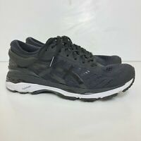 ASICS Gel Kayano 24 Women's Size US 8.5 Athletic Running Shoes Black/White T799N