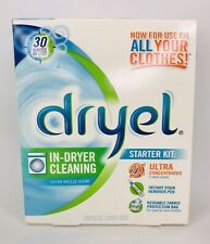 DRYEL IN DRYER CLEANING Cleaner Starter Kit 2X  Clean Breeze Scent Discontinued