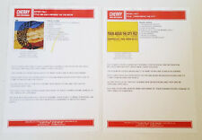 Felt Sales One Sheets Lot Of 2 Train Above The City / Me & A Monkey Uk 2004