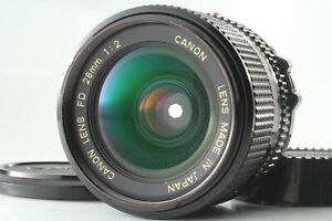 【NEAR MINT】 Canon NEW FD NFD 28mm F2 MF Wide Angle Prime Lens from JAPAN #730