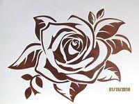Rose Stencil / Template Reusable 10 mil Mylar