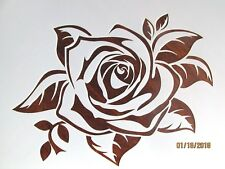 Rose Stencil / Template Reusable 10 mil Mylar