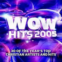 WOW Hits 2005 by Various Artists (CD, Oct-2004, 2 Discs, EMI Christian Music Gr…