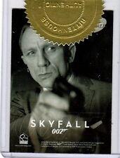 James Bond Autographs & Relic BJB23 Case Topper card