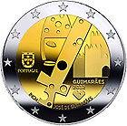 "PORTUGAL 2012 2 EURO COMMEMORATIVE"" GUIMARAES "" PRIX : 6,95 €  !!!!"