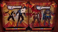 DC UNIVERSE  CLASSICS KNIGHTFALL & WAR OF THE LANTERNS  BOX SETS  4 FIGURES MISB