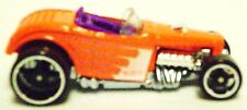 Hot Wheels DEUCE ROADSTER ORANGE 1:64 S Scale Rod Car Diecast Cars Toys New I