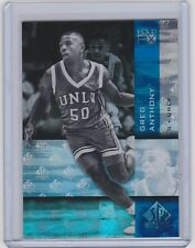 2010-11 UPPER DECK SP AUTHENTIC GREG ANTHONY UD HOLOVIEW FX REBELS