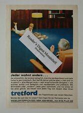 Werbeanzeige/advertisement A5: Tretford Teppichboden 1967 (090816141)