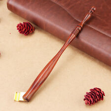 Wood English Calligraphy Dip Pen Nib Holder Oblique Fountain Pen Holder Antique