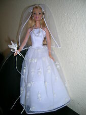 barbie tache de rousseur en robe de mariée collection Mattel de 1999