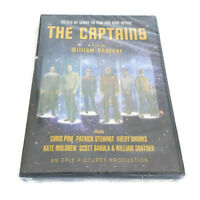 The Captains Star Trek William Shatner Stewart Pine Mulgrew NEW Sealed DVD