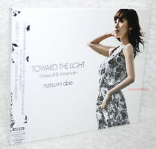 Natsumi Abe Toward the light Classical & Crossover Taiwan Ltd CD+DVD+booklet