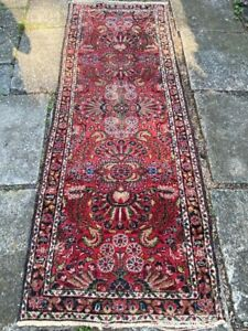 Antique Handmade Runner Rug