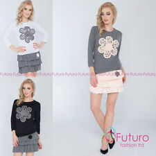 Cotton Tiered Skirts for Women