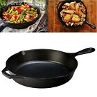 Cast Iron Skillet Lodge Logic 10.25in Seasoned Fry Pan Oven Stovetop Cookware