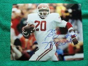 BILLY SIMMS autographed color 8x10 glossy photo