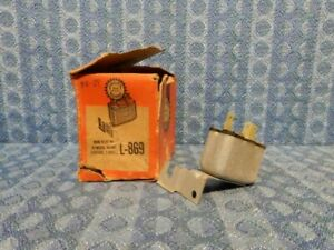 1960-1963 Chrysler Dodge Plymouth NORS Horn Relay #L-869 (SEE DETAILS IN AD)