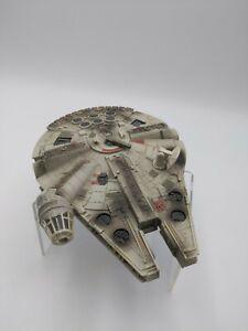 Star Wars Micro Machines Action Fleet Millennium Falcon Battle Damage 2002