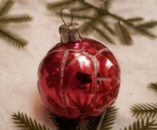 Ball ANTIQUE Christmas Decor Vintage Old Glass