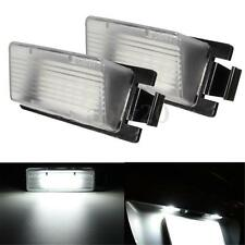 2x White LED License Plate Light Lamp Fit Nissan 350Z 370Z GT-R Infiniti G35 G37