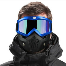 Winter Snow Sports Full Face Mask Glasses Goggles Ski Snowboard Snowmobile Skate