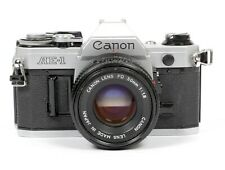 CANON AE-1 35mm SLR Film Camera with 50mm F1.8 Lens #521