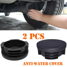 2PCS Exhaust Tail Pipe Cap Water Baffle Cover For Smart Fortwo Forfour W451 Firm