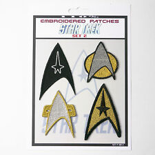 STAR TREK Crew Patches Classic / TNG Iron-On Patch Super Set #012  FREE POST