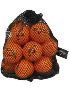 Callaway HX Practice Balls 18 Pack Orange