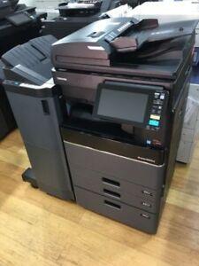 Toshiba e-STUDIO 5005AC Multi-function Photocopier + Finisher  FREE DELIVERY NSW
