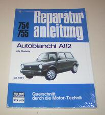 Reparaturanleitung Autobianchi A 112 - alle Modelle - ab Baujahr 1971