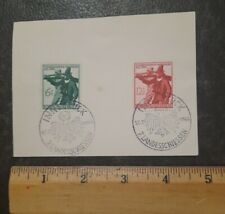 GERMANY   7th SHOOTING MATCHES / 1944 / INNSBRUCK / SPECIAL CANCELS           c