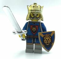C392 Lego Kingdom Castle Lion Knight Minifigure with Sword from 70400 NEW