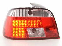 BMW E39 CRYSTAL CLEAR LED REAR LIGHTS LAMPS PREFACELIFT 11/1995-8/2000 MODEL