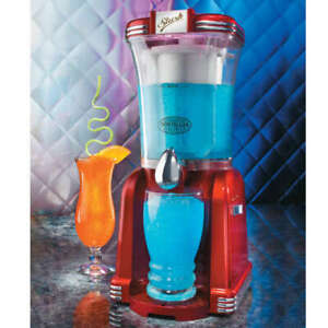 Nostalgia Electrics Slush Machine - Slush Machine, Ice Summer Drink Dispenser