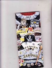 1983 SAN DIEGO PADRES  Media Guide