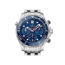OMEGA SEAMASTER Diver Cronografo 212.30.44.50.03.001 - MAI INDOSSATA W / BOX & Papers