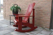 Adirondack Rocking Chair Plans - Full Size Patterns